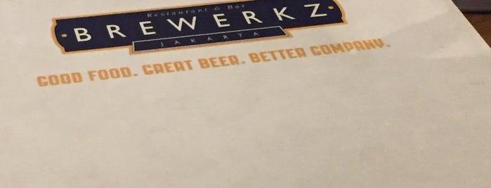 Brewerkz is one of Culiner.
