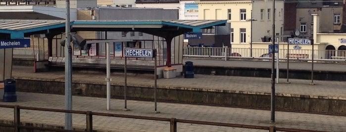 Station Mechelen is one of Bijna alle treinstations in Vlaanderen.