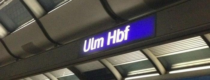 Ulm Hauptbahnhof is one of Top 40 Foursquare Bahnhöfe.
