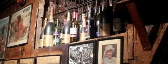 Gordon's Wine Bar is one of London Wine Bars.