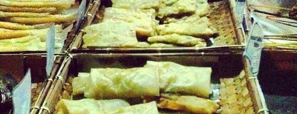 Nasi comot is one of Kuliner bandung.