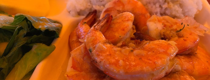 Fumi's Kahuku Shrimp is one of Hawaii Munchies.
