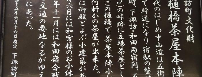 中山道 樋橋茶屋跡 is one of 201405_中山道.