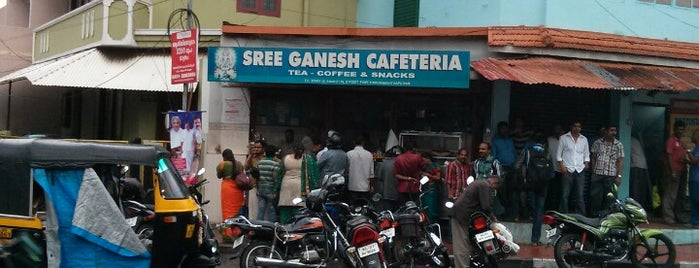 Sree Ganesh Cafeteria is one of Favorite Food.