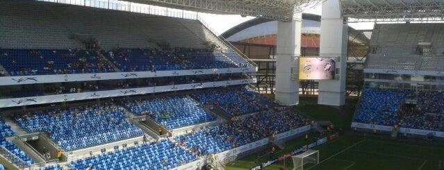 Arena Pantanal is one of Estadios Brasil Mundial FIFA 2014.