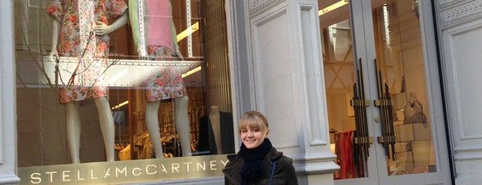 Stella McCartney is one of Soho shopping.