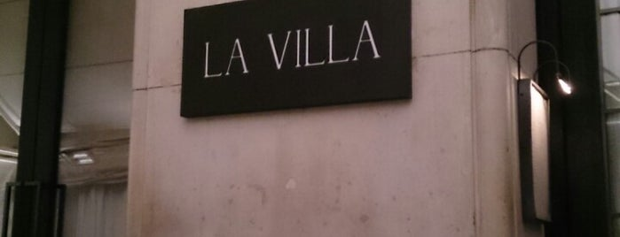 La Villa is one of Night club in Paris.