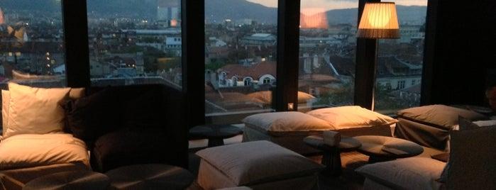 Sense Rooftop Bar is one of Bulgariaaaa 🍹☀.
