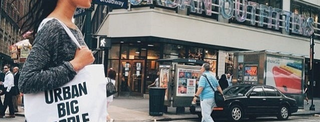 Urban Outfitters is one of New York.