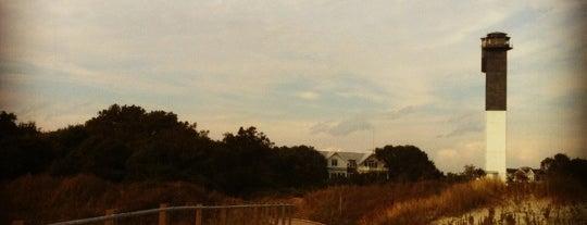Sullivan Island Lighthouse is one of Charleston, SC.