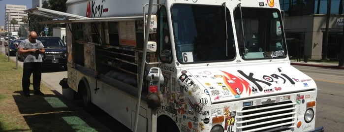 Kogi BBQ Truck is one of Places, I really want to eat at.