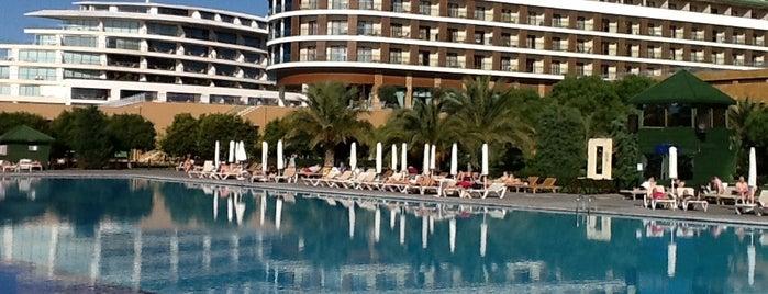 Voyage Belek Golf & Spa is one of themaraton.
