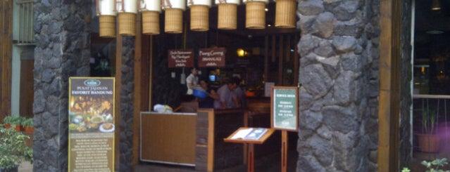 The Kiosk Ciwalk is one of Bandung Kuliner.