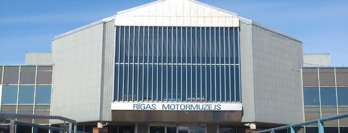 Riga Motor Museum is one of Unveil Riga : Atklāj Rīgu : Открой Ригу.