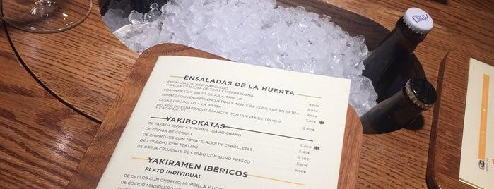 Yakitoro is one of madrid. Beber y comer.
