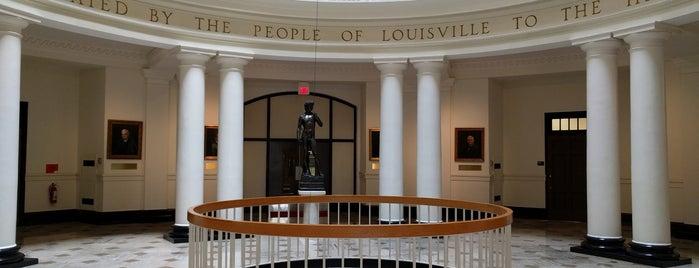 Grawemeyer Hall is one of LOUISVILLE.