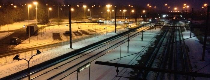 Station Antwerpen-Noorderdokken is one of Bijna alle treinstations in Vlaanderen.