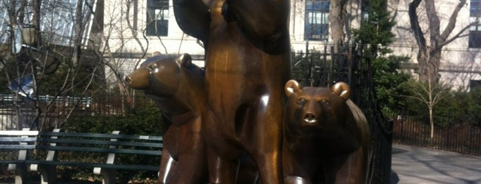 Central Park - Group of Bears is one of The 15 Best Sculpture Gardens in New York City.