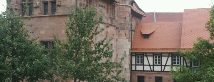 Tucherschloss is one of Nuremberg's favourite places.
