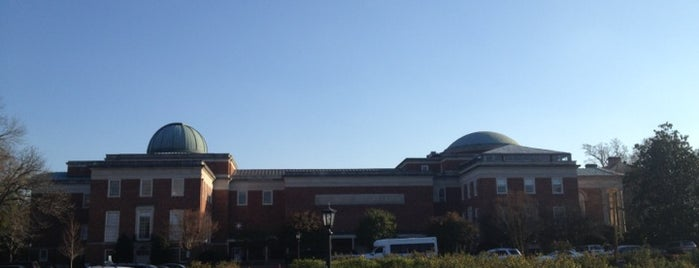 Morehead Planetarium and Science Center is one of NORTH CACKALACKA.