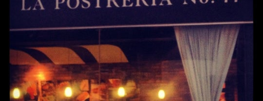 La Postrería 77 is one of Mah fravrit.