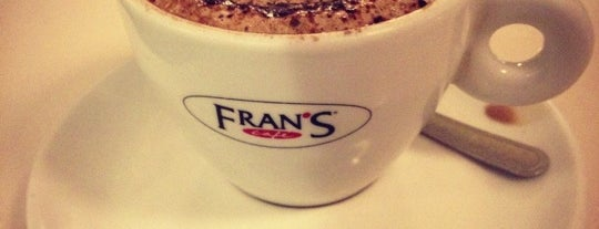 Fran's Café is one of Places that Im used to go.