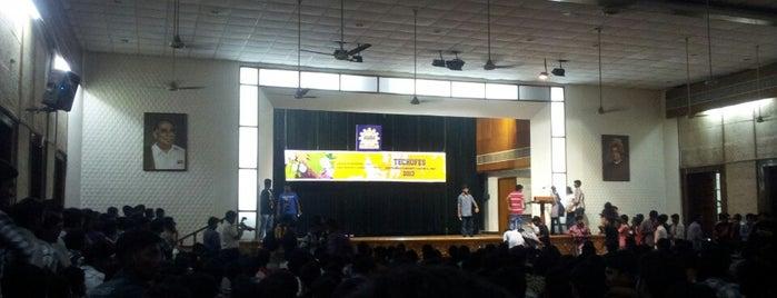 Vivekananda Auditorium is one of Anna university.