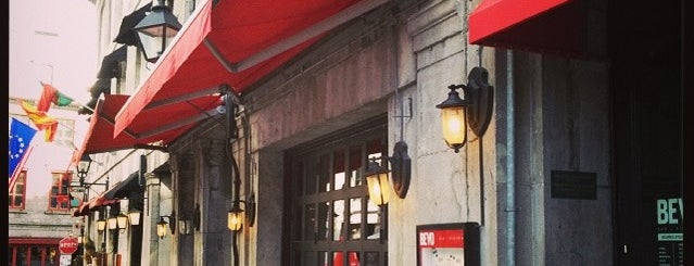 BEVO Bar + Pizzeria is one of Best Terrasses in Montreal.