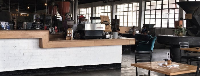 The Factory Cafe is one of CoffeeGuide..