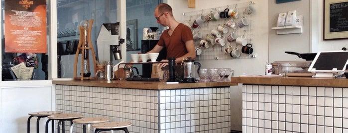 Koffie Leute Brauhaus is one of Don't do Starbucks et al.!.