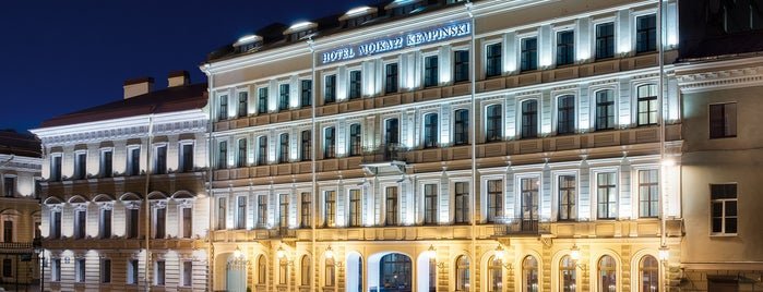 Kempinski Hotel Moika 22 is one of My favourite places in Saint-Petersburg, Russia.