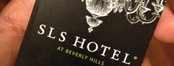 SLS Hotel at Beverly Hills is one of Los Angeles.