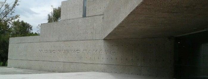 Museo Tamayo is one of Galerías y Museos @ DF.