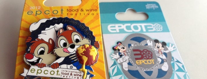 Pin Central is one of Walt Disney World - Epcot.