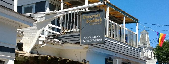 Governor Bradford Restaurant is one of Cape Cod.