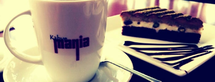 Coffeemania is one of The places I love in Türkiye.