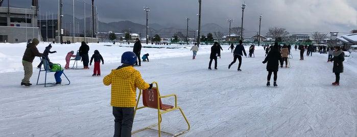 山形市総合スポーツセンター スケート場 is one of スケートリンク.