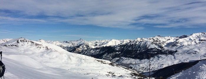 Vars is one of Stations de ski (France - Alpes).