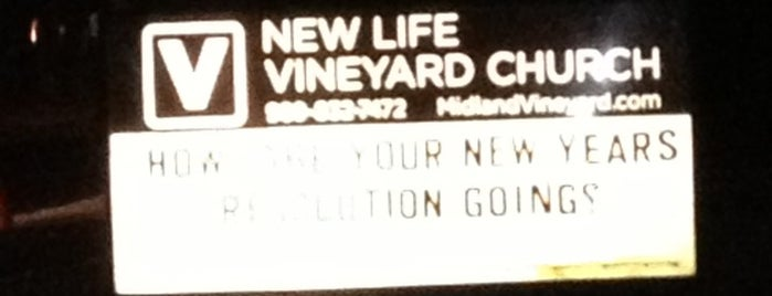 New Life Vineyard is one of Best places.