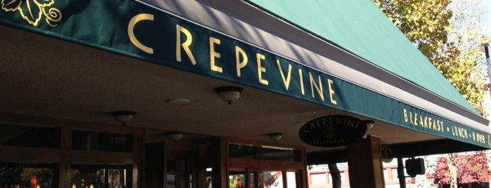 Crepevine is one of Foodies.