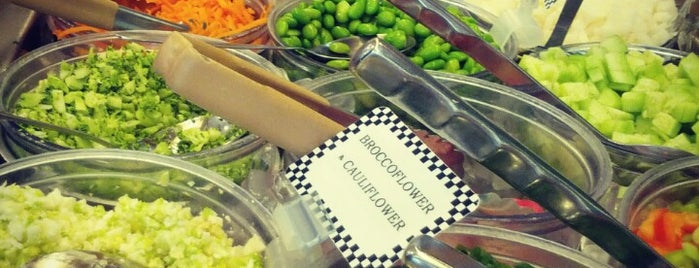 Mrs. Winston's Green Grocery is one of The 15 Best Vegetarian and Vegan Restaurants in Los Angeles.