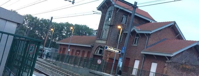 Station Zandbergen is one of Bijna alle treinstations in Vlaanderen.