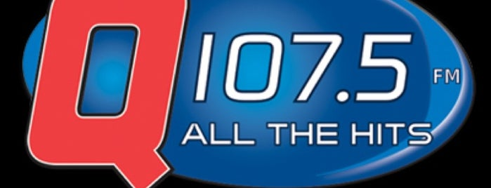 96.1 and 107.5 The Q Studios! is one of Recommendations from you to me 4square and 4cast.