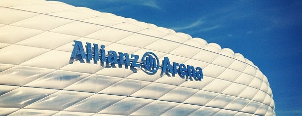 Allianz Arena is one of Sitios.