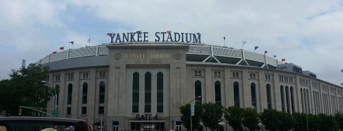 Yankee Stadium is one of Bronx Museum Spots.