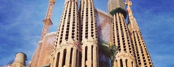 Sagrada Família is one of 36 hours in...Barcelona.