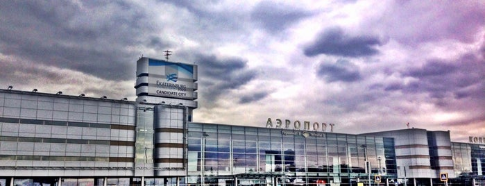 Koltsovo International Airport (SVX) is one of Airports in Europe, Africa and Middle East.