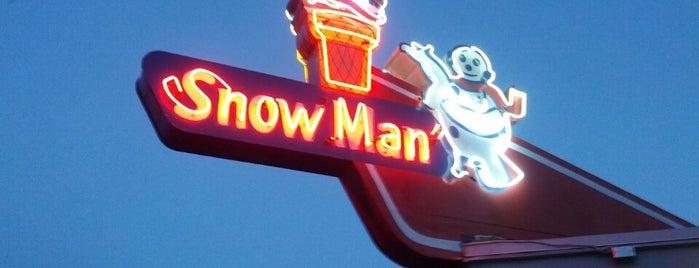 The Snowman is one of Lieux qui ont plu à Matt.
