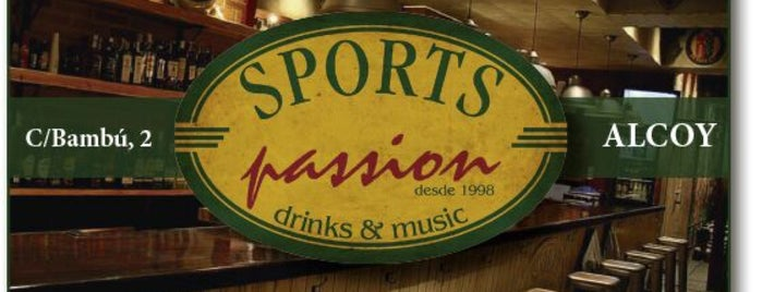Sports Passion is one of Pubs de Alcoy.