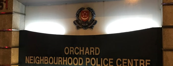 Orchard Neighbourhood Police Centre is one of Singapore Police Force.